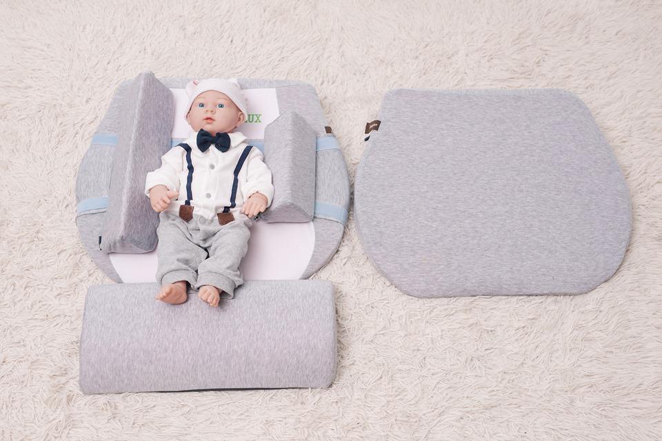 Gối chống trào ngược 15 độ (có thể điều chỉnh lên 30 độ) babylux ( Mã BL02+)( DÀNH CHO BÉ BỊ TRỚ + TRÀO NGƯỢC RẤT NẶNG): dùng cho trẻ sơ sinh 0-36 tháng