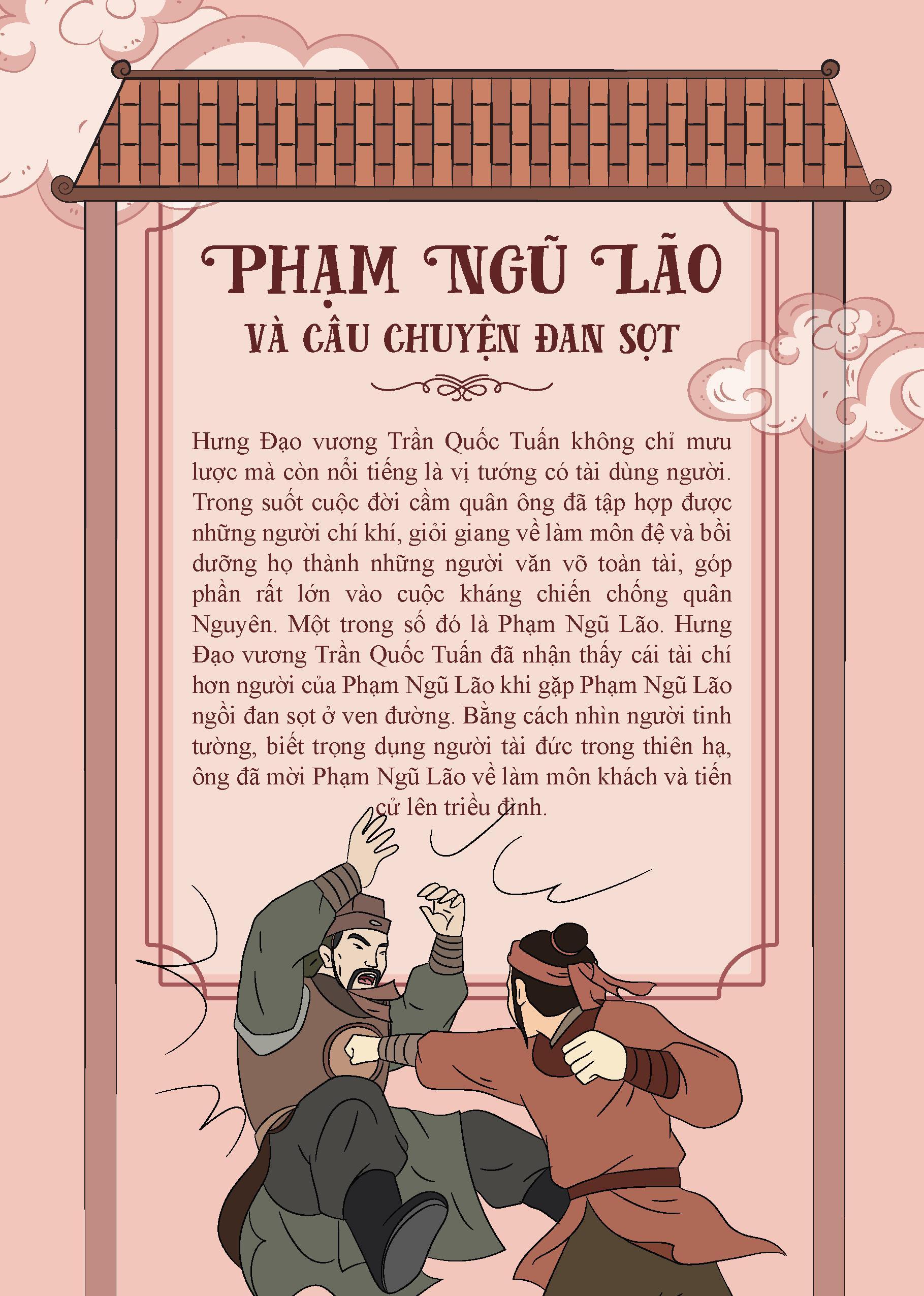 Bộ Truyện Tranh Lịch Sử Việt Nam - Khát Vọng Non Sông: Phạm Ngũ Lão Và Câu Chuyện Đan Sọt