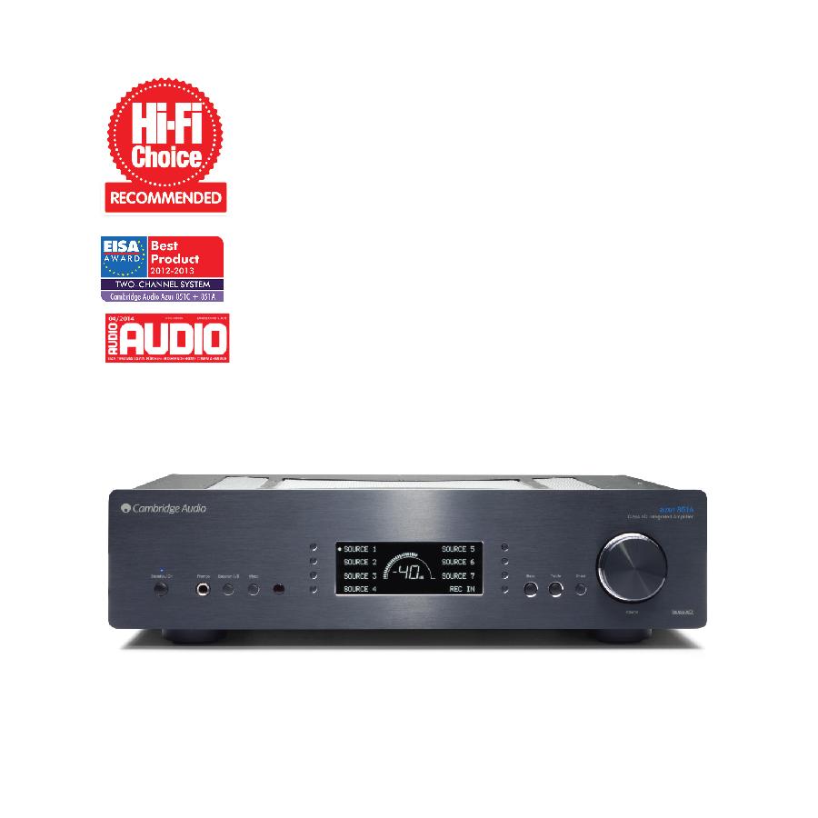 Cambridge Audio Azur 851A Đen - Hàng chính hãng