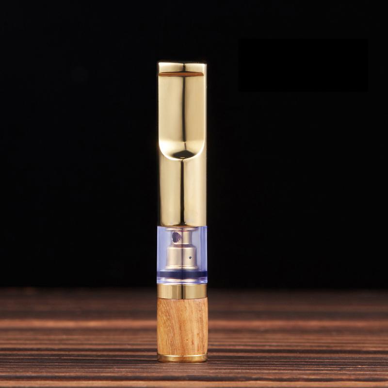 Tẩu lọc hút thuốc bằng gỗ đàn hương cao cấp ZB-350 (Giao Màu Ngẫu Nhiên)