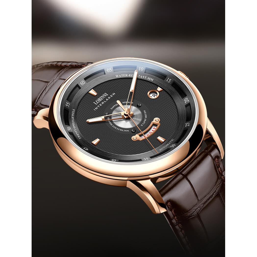 Đồng hồ nam chính hãng Lobinni No.1807-2