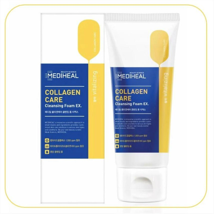 Sữa Rửa Mặt Collagen Phiên Bản EX MEDIHEAL COLLAGEN CARE 170ML