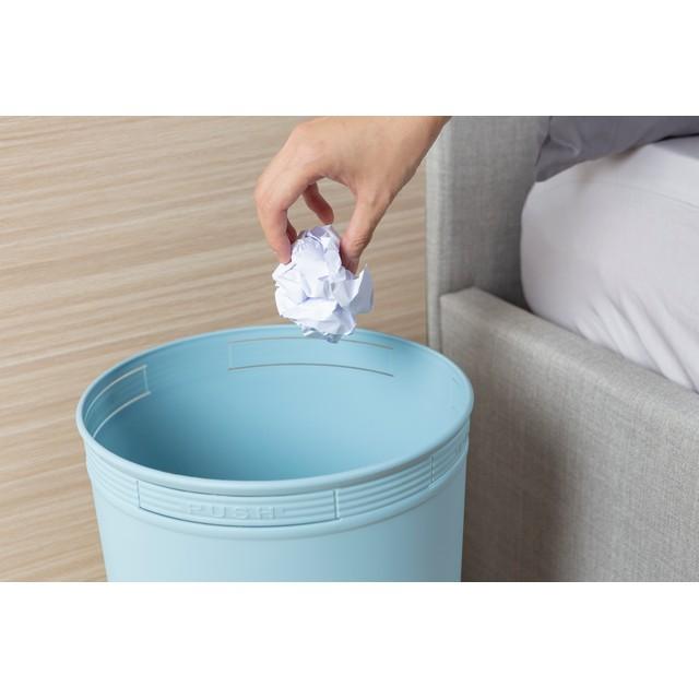 Thùng Rác Nhựa Tròn Cao Cấp 10 Lít Inochi Nhật Bản (236 x 236 x 300 mm) - Giao màu ngẫu nhiên