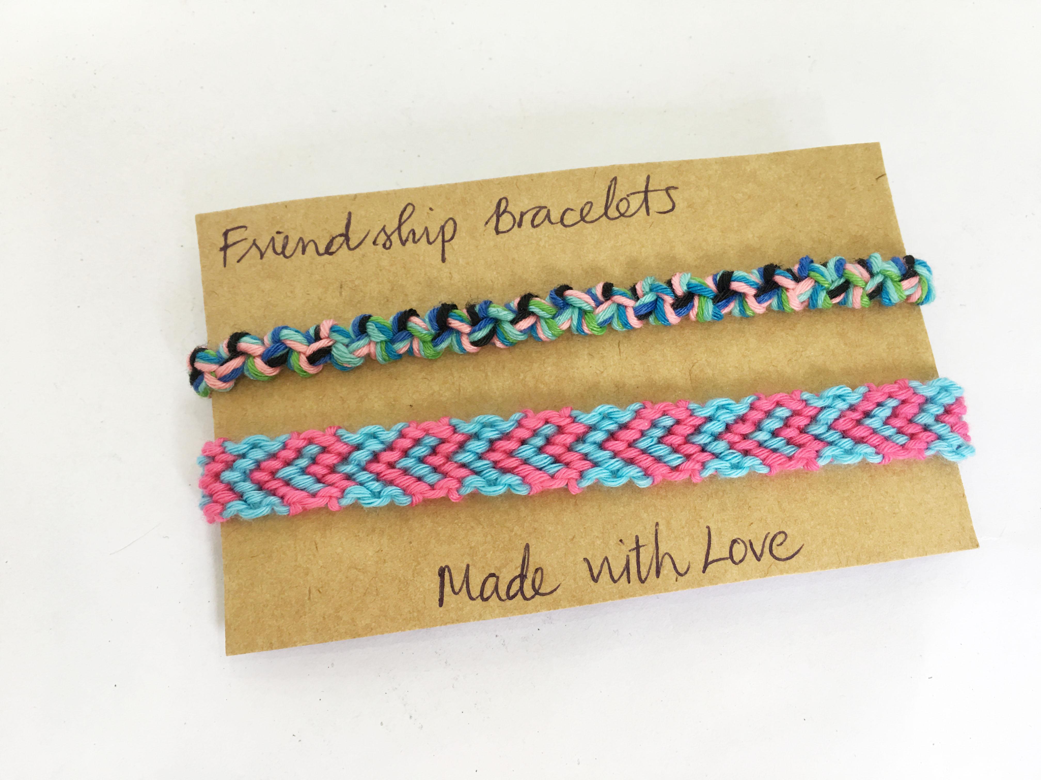 Vòng tay friendship handmade - Bộ 2 vòng (phát màu ngẫu nhiên)