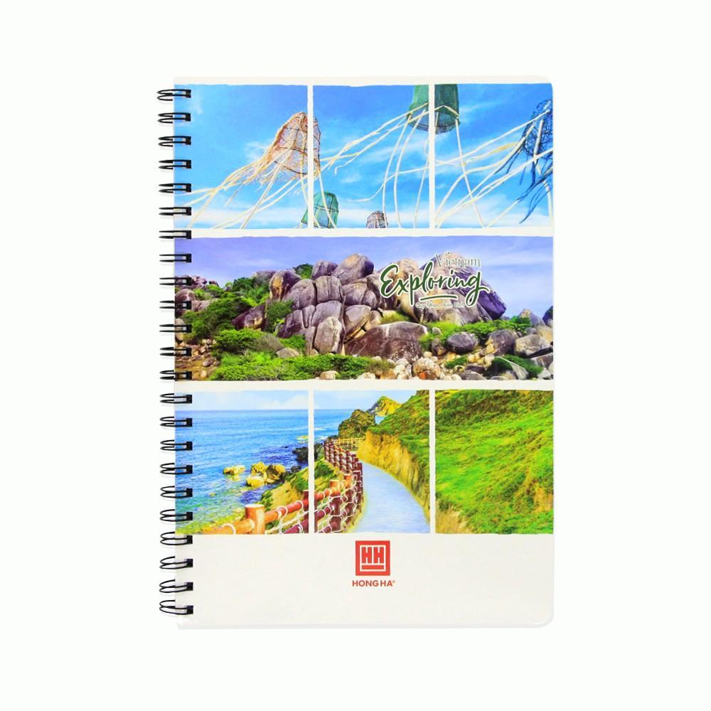 Sổ lò xo 160 trang A4 Hồng Hà Landscape (4140)