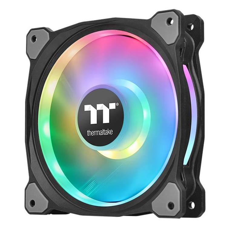 Bộ 3 Quạt Tản Nhiệt Thermaltake Riing Duo 12 RGB (3-Fan Pack) CL-F073-PL12SW-A - Hàng Chính Hãng