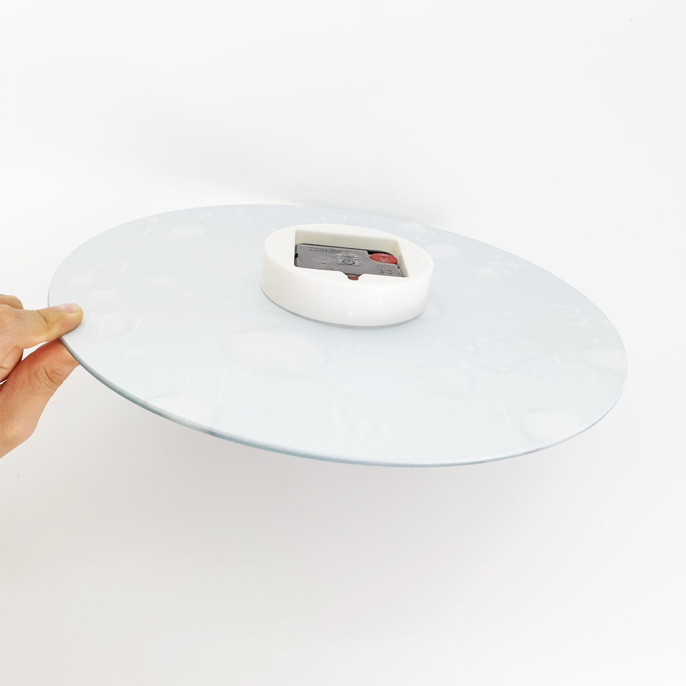 Đồng hồ treo tường Creative mặt kính cường lực 4mm họa tiết 3D – ĐK 30 cm – BH 12 tháng - Phong cách tối giản mà hiện đại, phù hợp cho nhiều không gian nội thất – Có 3 họa tiết để lựa chọn