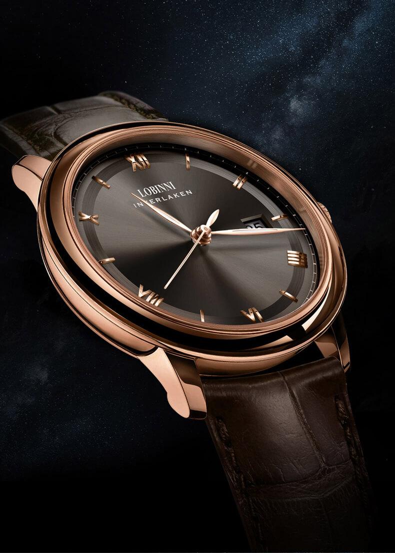 Đồng hồ nam chính hãng Lobinni No.14003-1