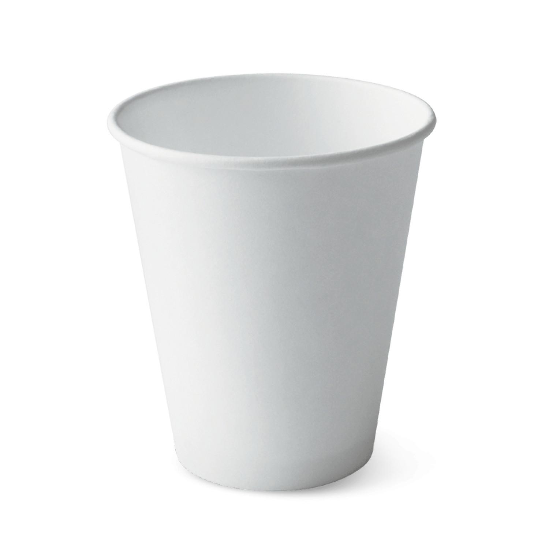 100 ly giấy nóng thương hiệu Detpak-Dung tích 240ml-Trắng