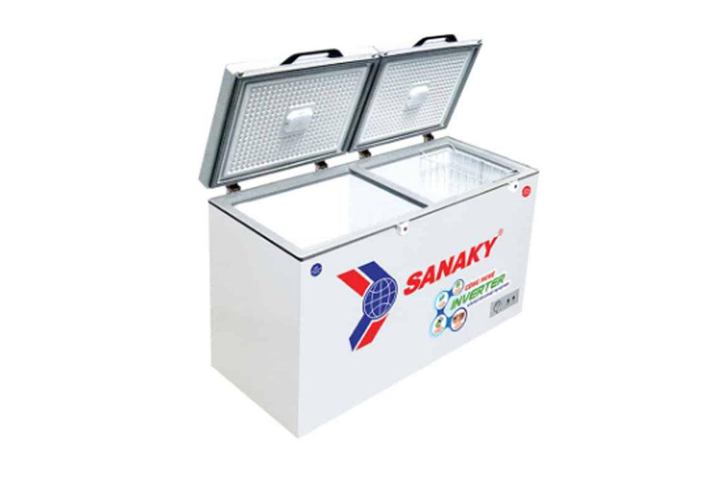 Tủ đông SANAKY Inverter 260 Lít VH3699W4K - Hàng chính hãng - Giao tại HN và 1 số tỉnh toàn quốc