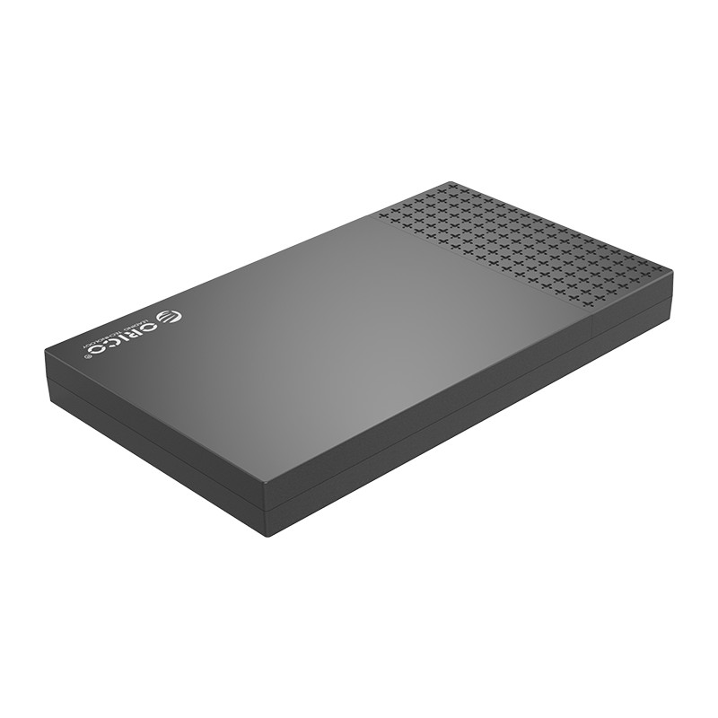 """Hộp Đựng Ổ Cứng ORICO 2526C3-BK (Đen) 2.5"""" SSD/HDD SATA 3 USB 3.1 Gen2 Type-C - Hàng Chính Hãng"""