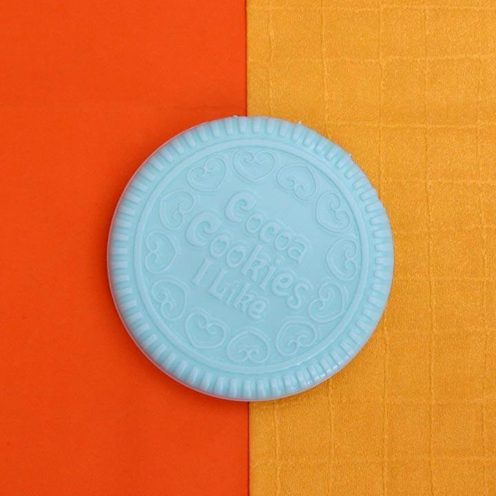 Bộ gương lược bỏ túi mini hình chiếc bánh cookies lạ mắt