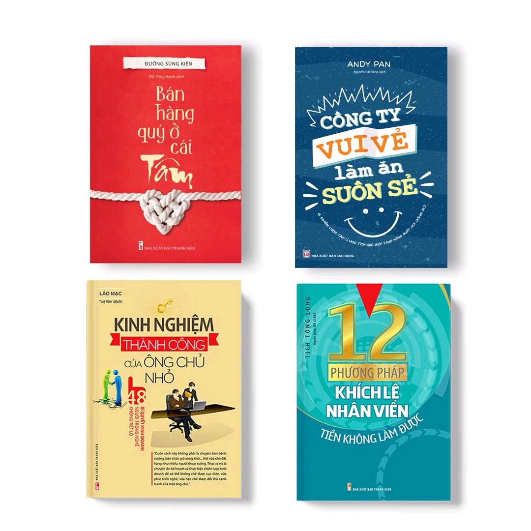 Combo Sách 4 Cuốn: Nhà Quản Lý Doanh Nghiệp 4.0