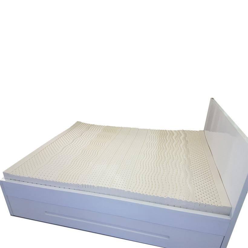 Nệm cao su thiên nhiên 6 vùng massage + drap 3 lớp hạt hồng ngoại xa cao cấp Qsupport
