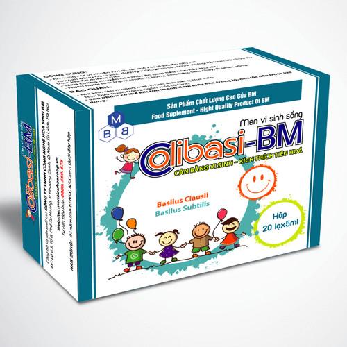 Thực phẩm bảo vệ sức khỏe Men vi sinh sống COLIBASI-BM
