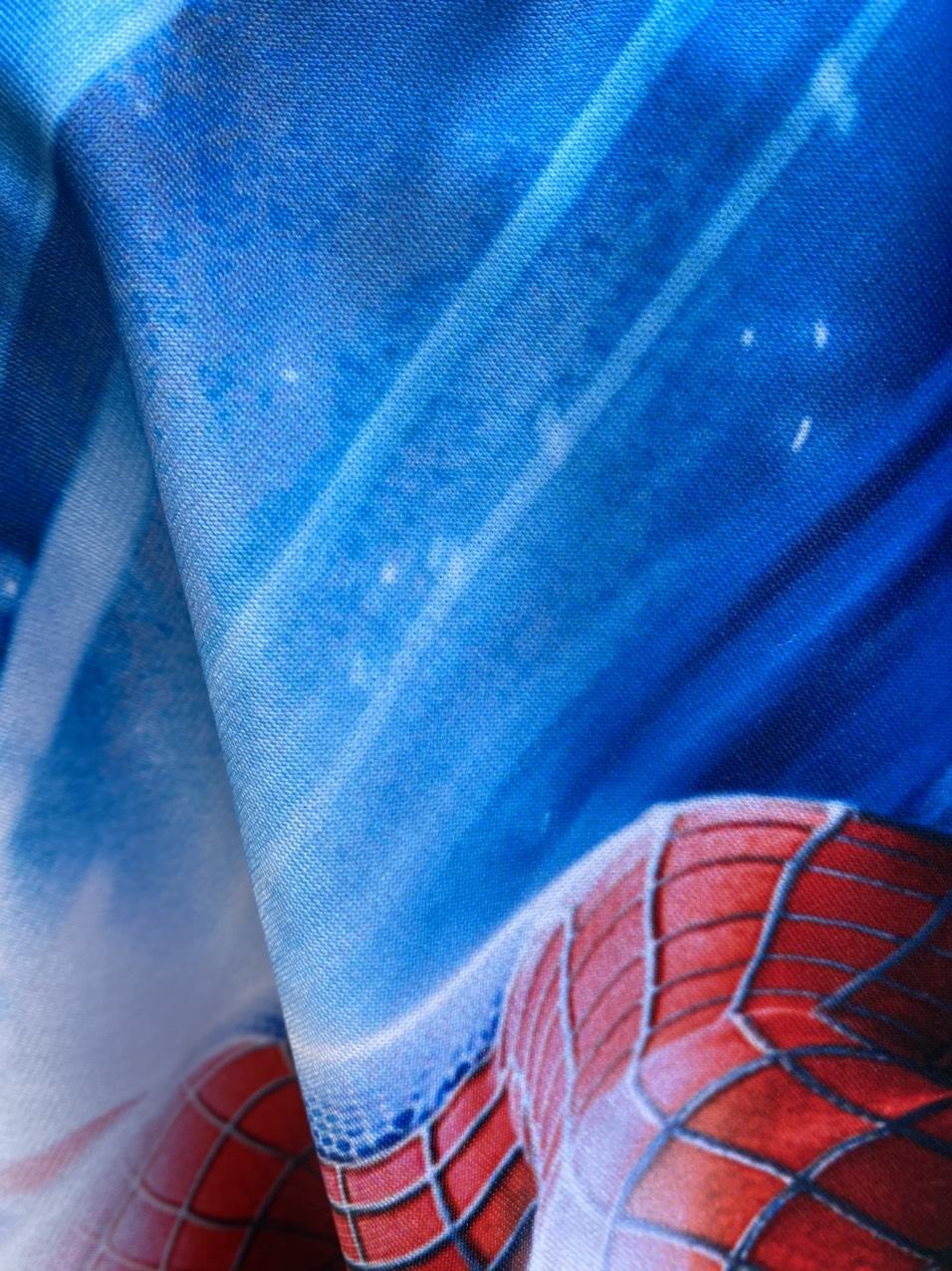 Bộ chăn gối hình Người nhện cho bé 3-5 tuổi