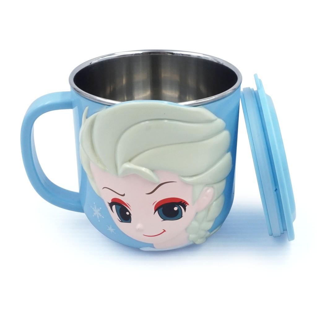 Bộ đồ ăn 6 món Disney - Elsa và McQueen