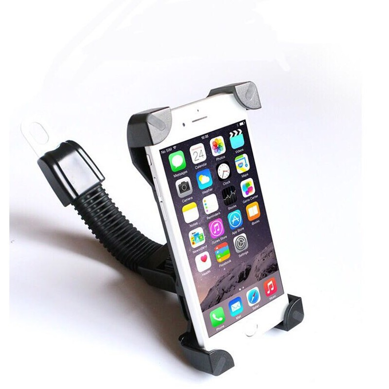 Giá đỡ, kẹp đa năng điện thoại cho xe máy Holder CH-01 - Tặng kèm giá đỡ điện thoại hình thú để bàn