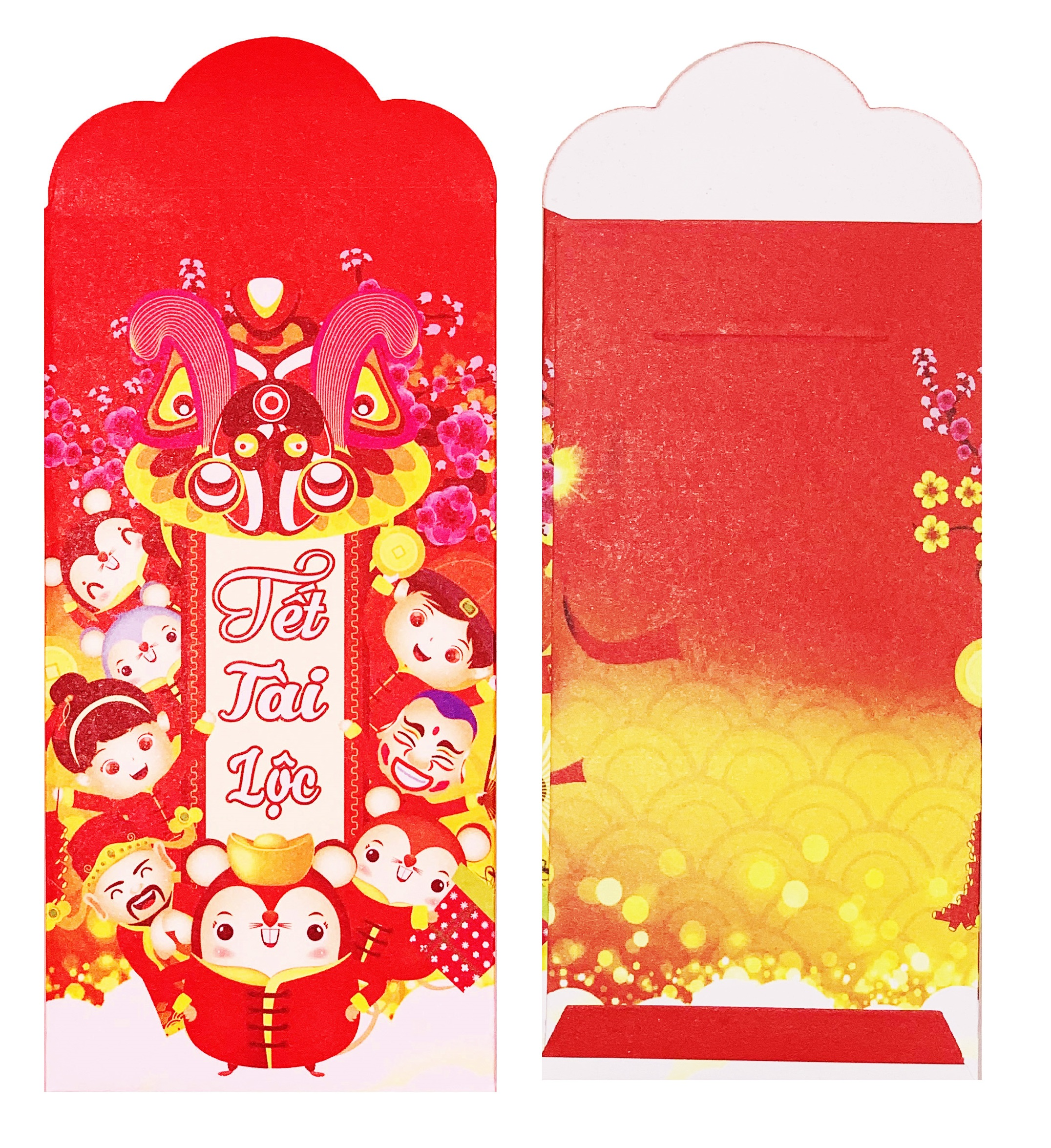 Set 12 Bao Lì Xì Xuân Đại Lợi Canh Tý 2020