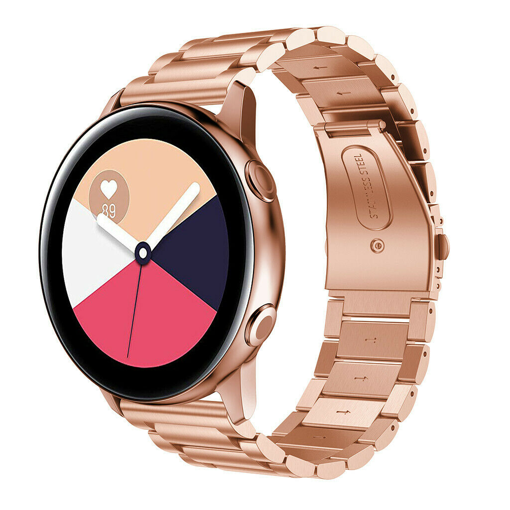 Dây Thép Classic Size 20mm cho Galaxy Watch Active 1, Galaxy Watch Active 2, Galaxy Watch 42, Huawei Watch 2, Ticwatch, Amazfit