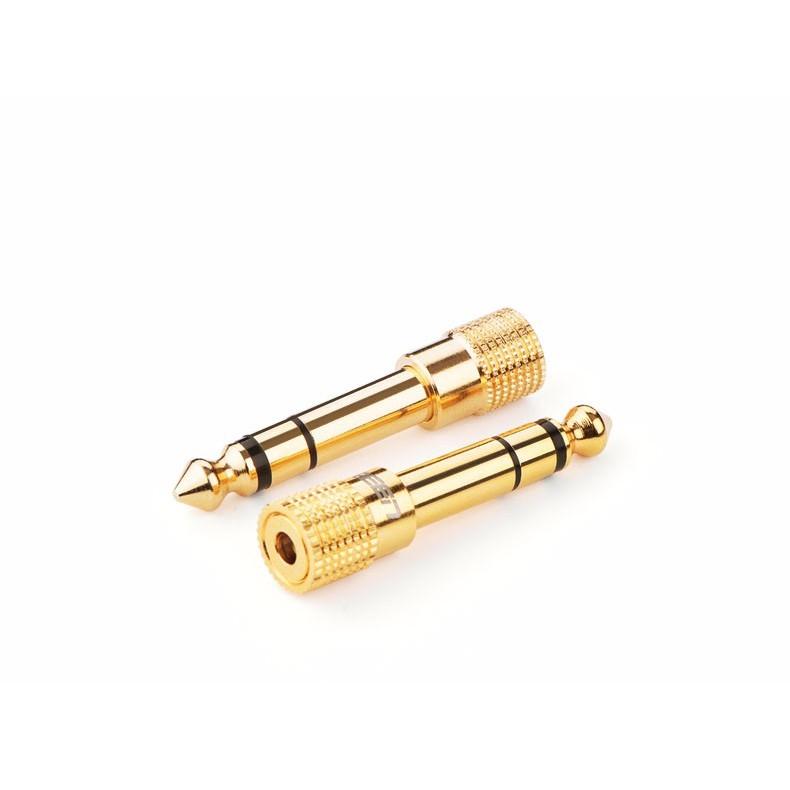 Đầu Chuyển Audio 6.5mm To 3.5mm Ugreen Mạ Vàng Cao Cấp - Hàng Chính Hãng
