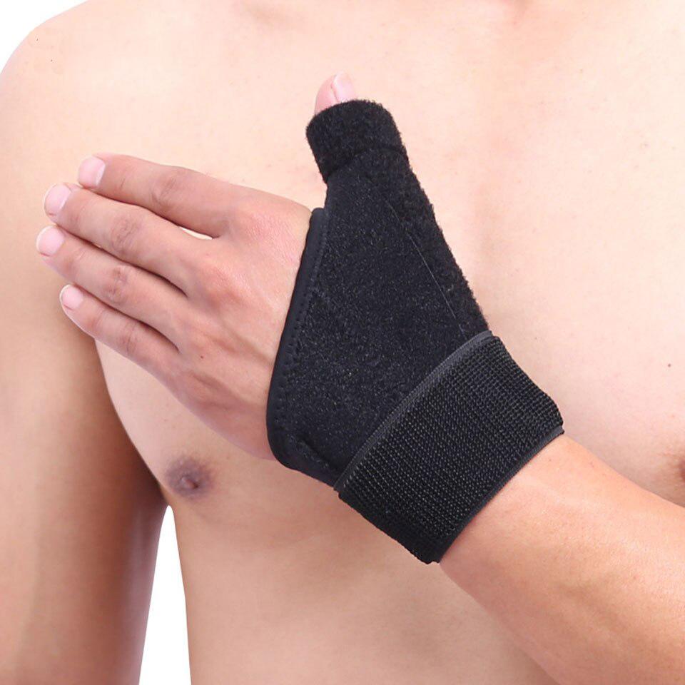 Nẹp cố định ngón tay cái AOLIKES YE-1670 thumb pressured wrist protector - Hàng Chính Hãng