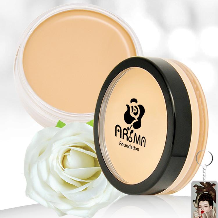 Kem che khuyết điểm Aroma Cover Foundation Hàn Quốc 14g tăng kèm móc khoá
