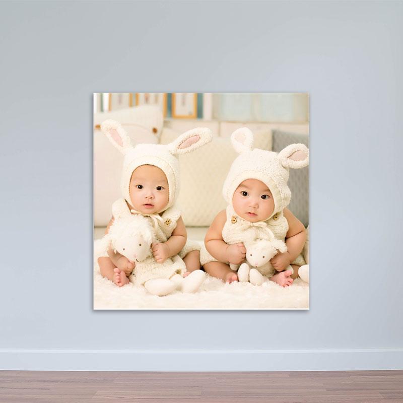 Tranh trẻ em và gấu bông   Tranh trẻ em đáng yêu W1949
