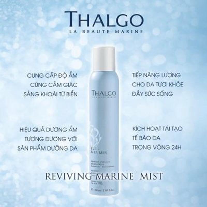 Xịt khoáng Thalgo Reviving Marine Mist 150ml