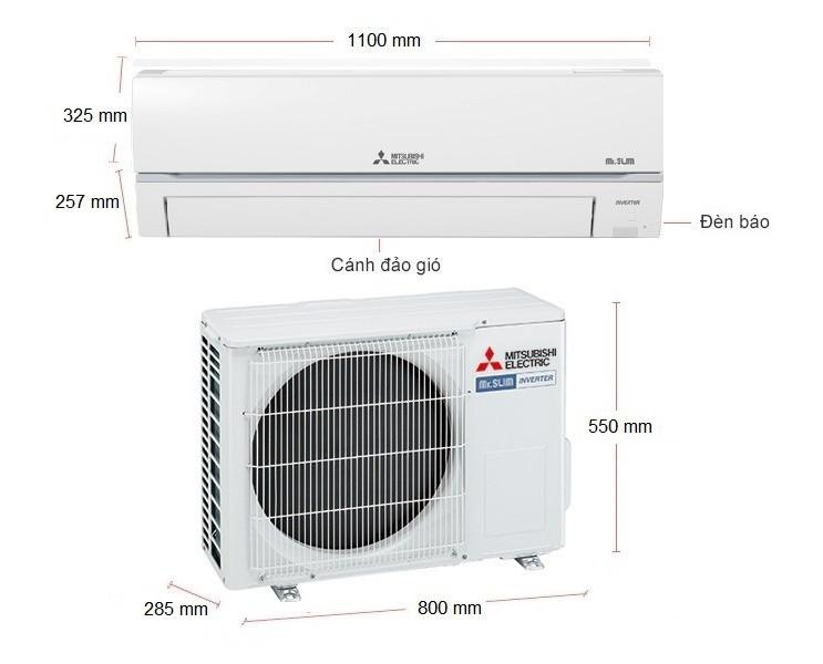 Máy Lạnh Mitsubishi Electric Inverter 2.5 HP MSY-GR60VF - Hàng chính hãng (chỉ giao HCM)