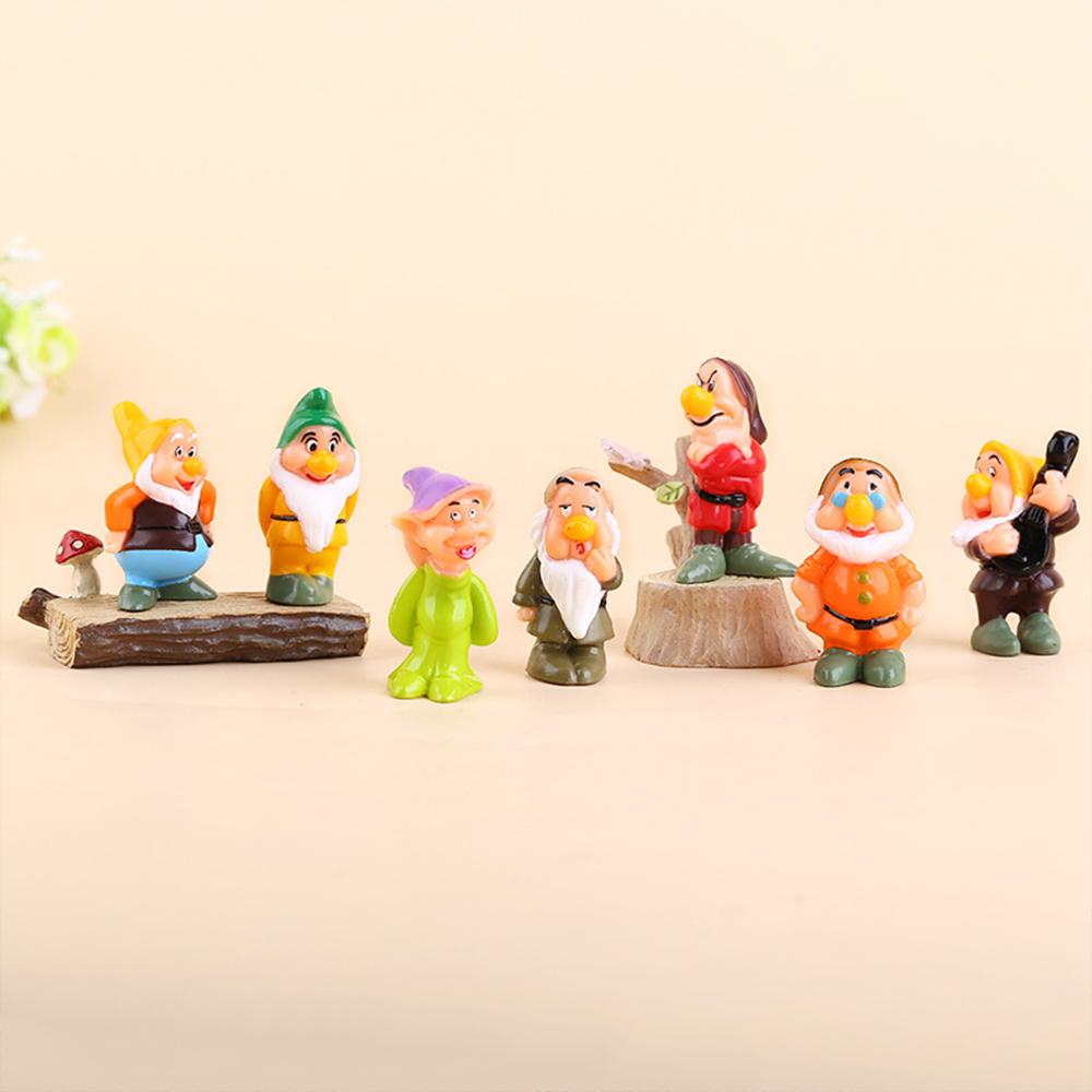 Mô Hình nàng Bạch Tuyết và Bảy Chú Lùn