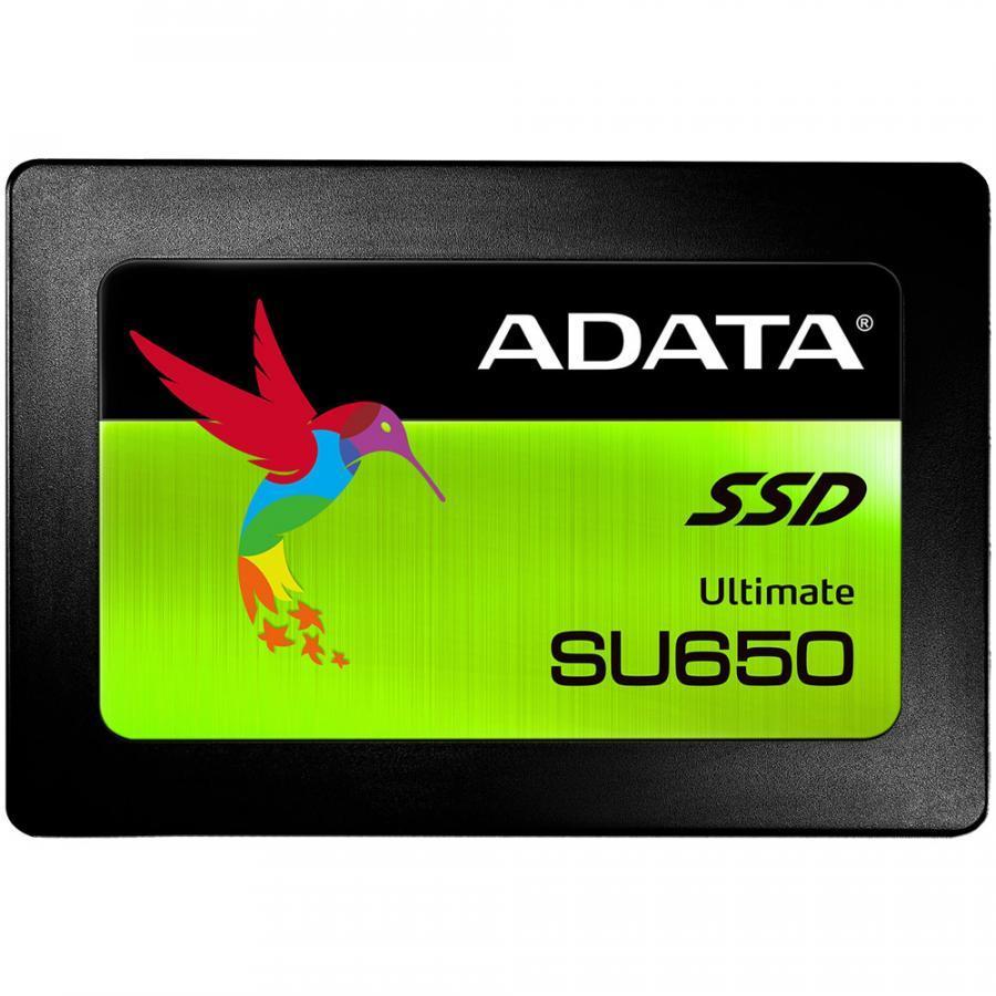 Ổ cứng SSD ADATA Ultimate SU650 Sata III 3D-NAND 2.5 inch 120GB - Hàng Chính Hãng