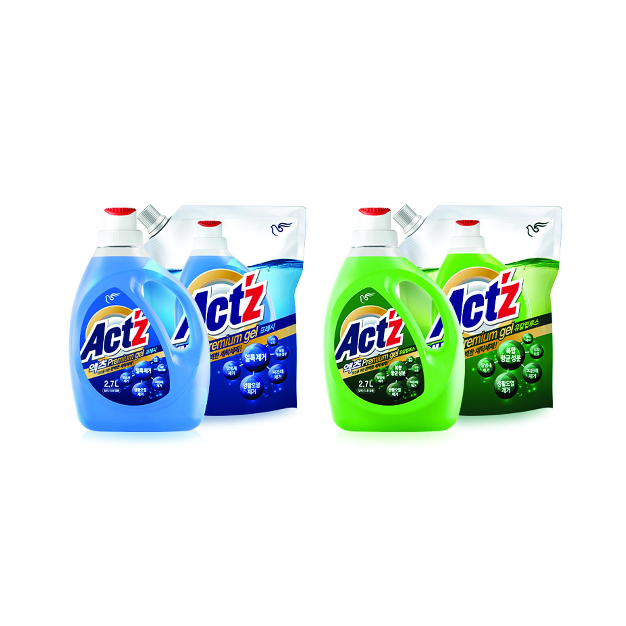 Nước giặt cao cấp PIGEON ACT'Z Premium Gel Hàn Quốc chai 2.7L