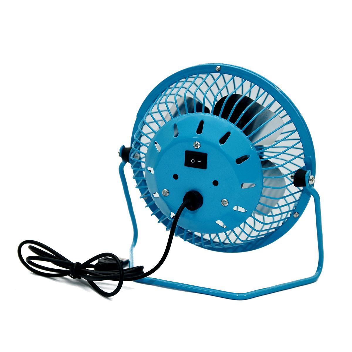 Combo 2 Quạt USB Mini Fan Lồng Sắt 4 inches
