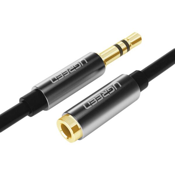 Cáp Chia Audio Ugreen 3.5mm Ra 2 Cổng RCA 10779 - Hàng Chính Hãng
