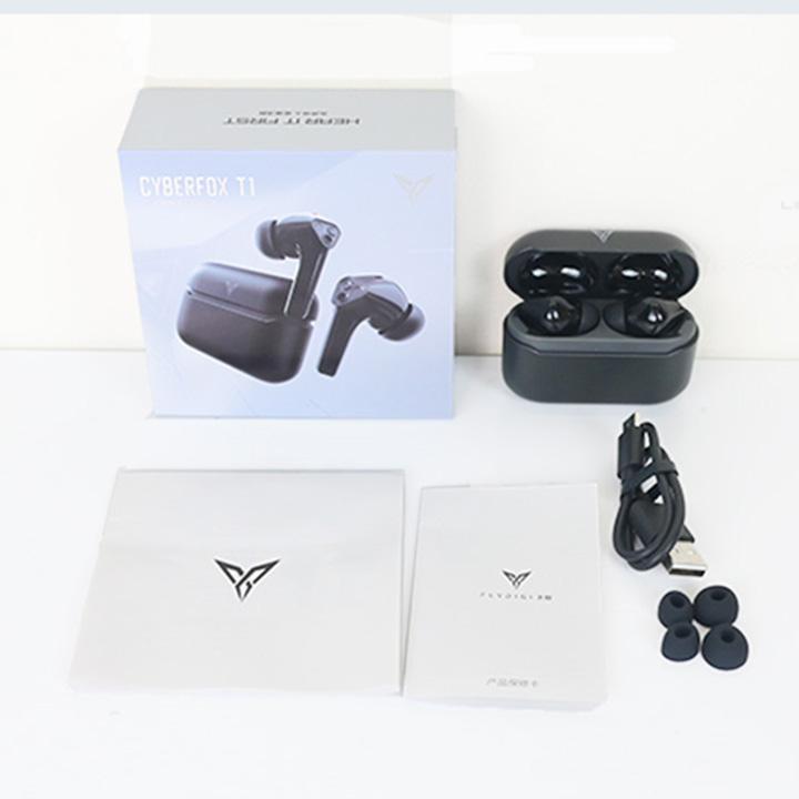 Tai nghe gaming Flydigi CyberFox T1 -  chống nước, tai nghe gaming bluetooth 5.0, độ trễ thấp - Hàng Nhập Khẩu