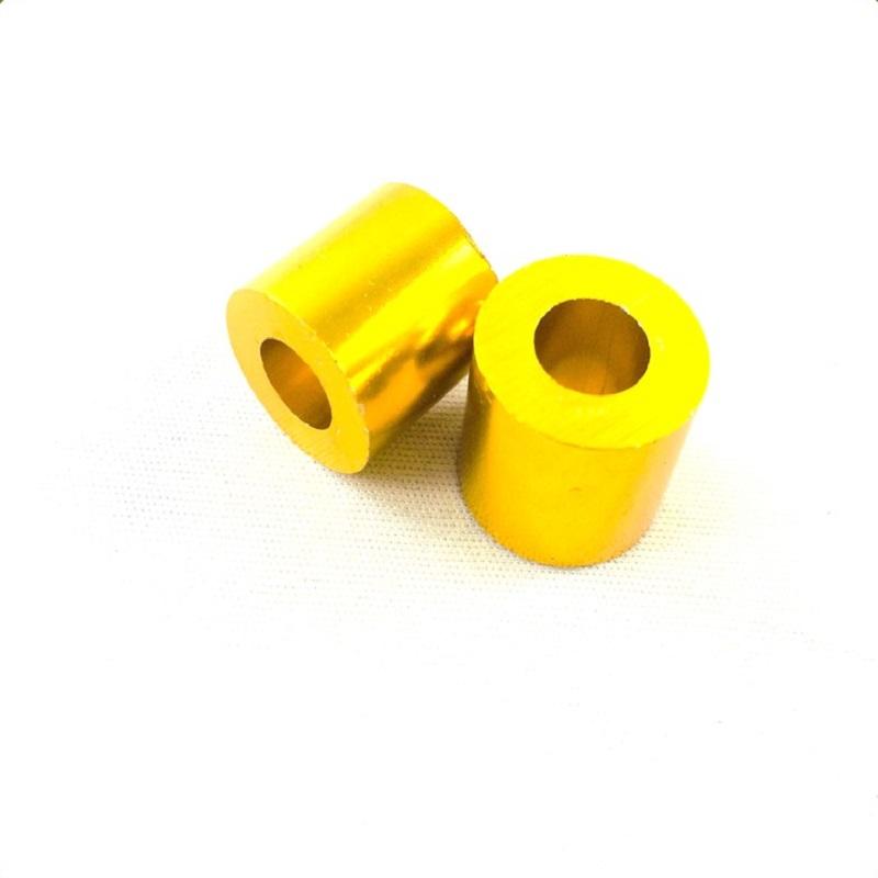 Bộ 2 gù chống đổ sau dành cho xe máy ( màu vàng )