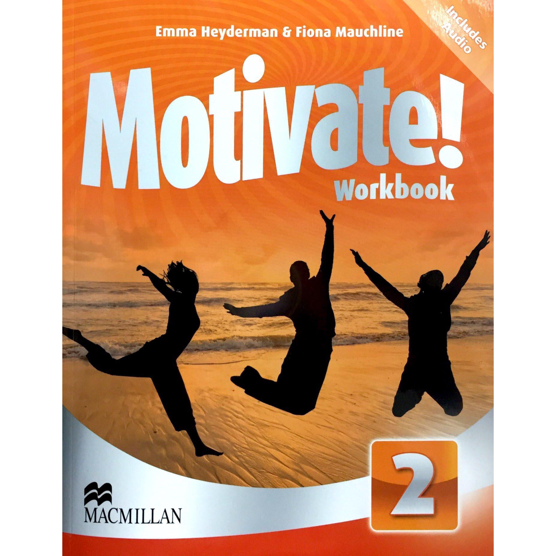 Motivate! 2 Wb & Audio Cd