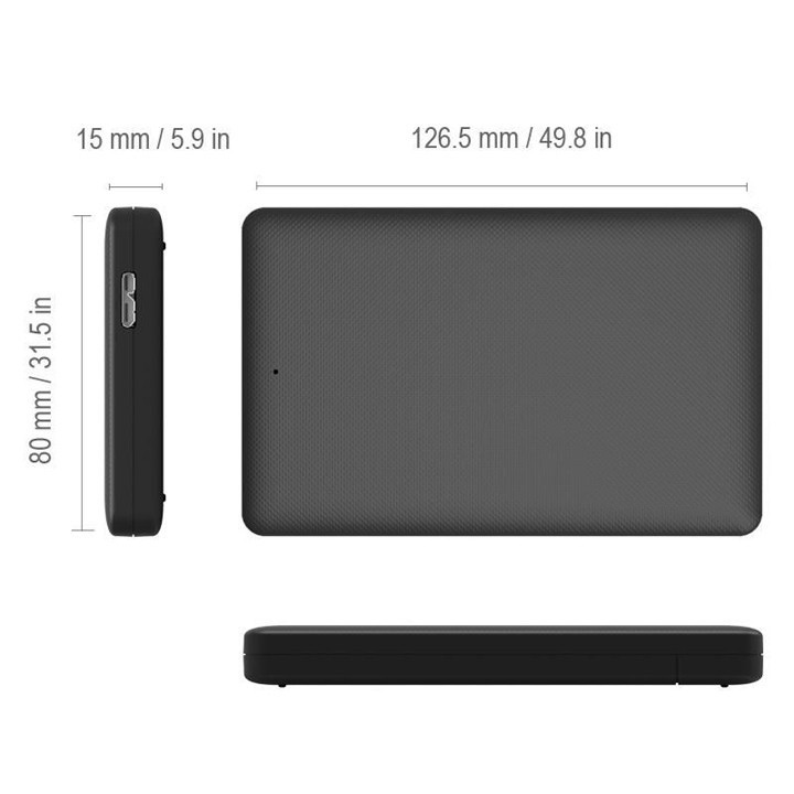 Box ổ cứng 2.5 inch SATA USB 3.0 2577U3