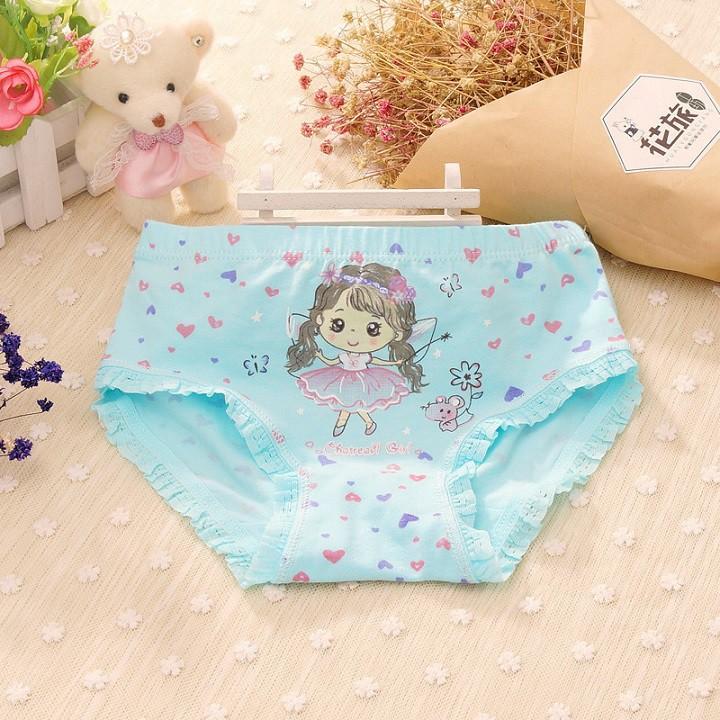 Combo 5 Quần lót đùi, quần chíp đùi cotton cho bé