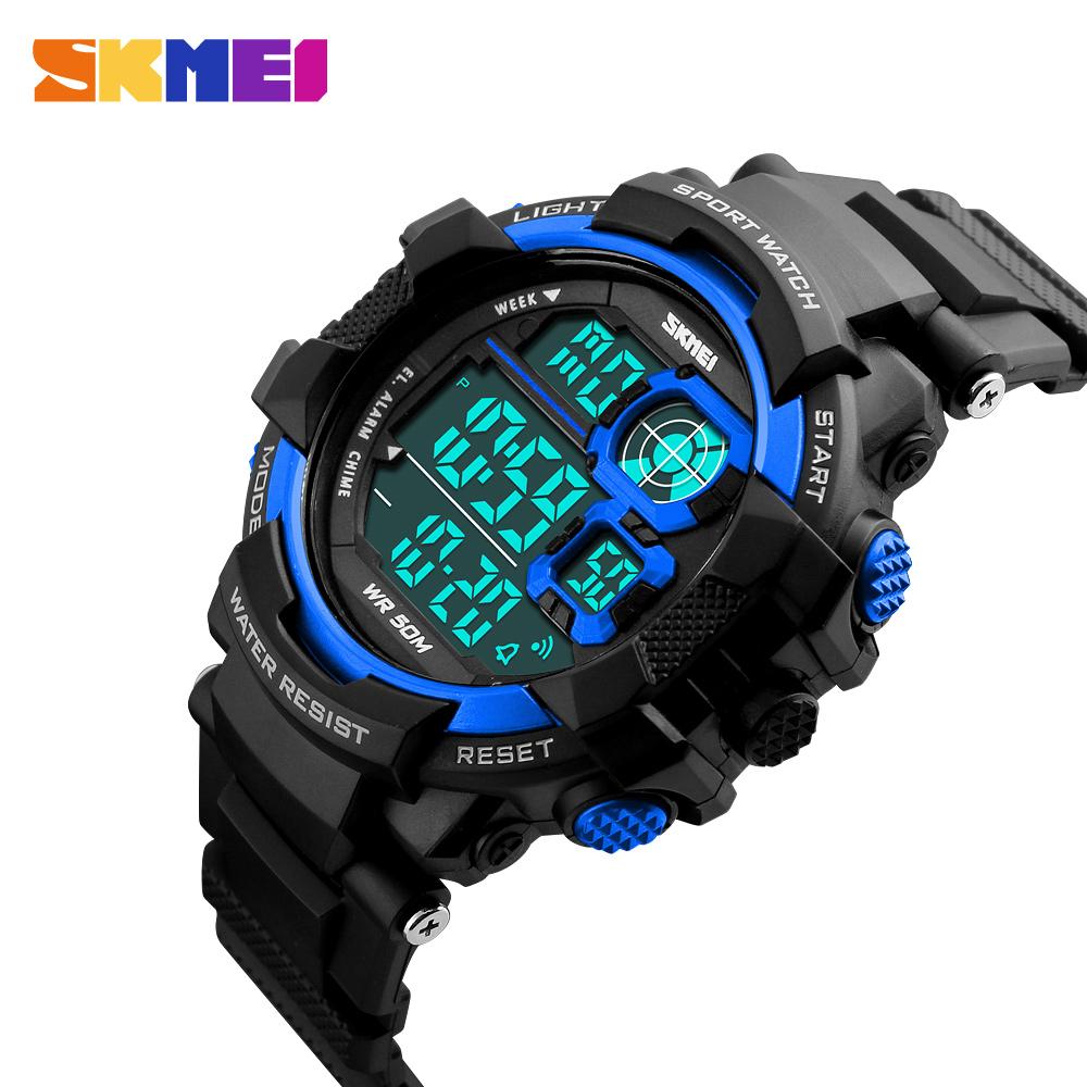 Đồng hồ đeo tay Skmei - 1118BU-Hàng Chính Hãng