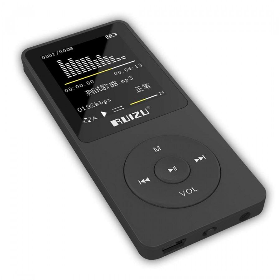 Máy Nghe Nhạc MP3 Ruizu X02 Bộ Nhớ Trong 8GB AZONE - Hàng Nhập Khẩu