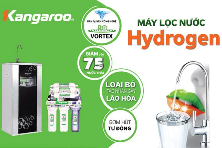 Máy Lọc Nước Kangaroo Hydrogen KG100HQ không vỏ VTU - Hàng chính hãng