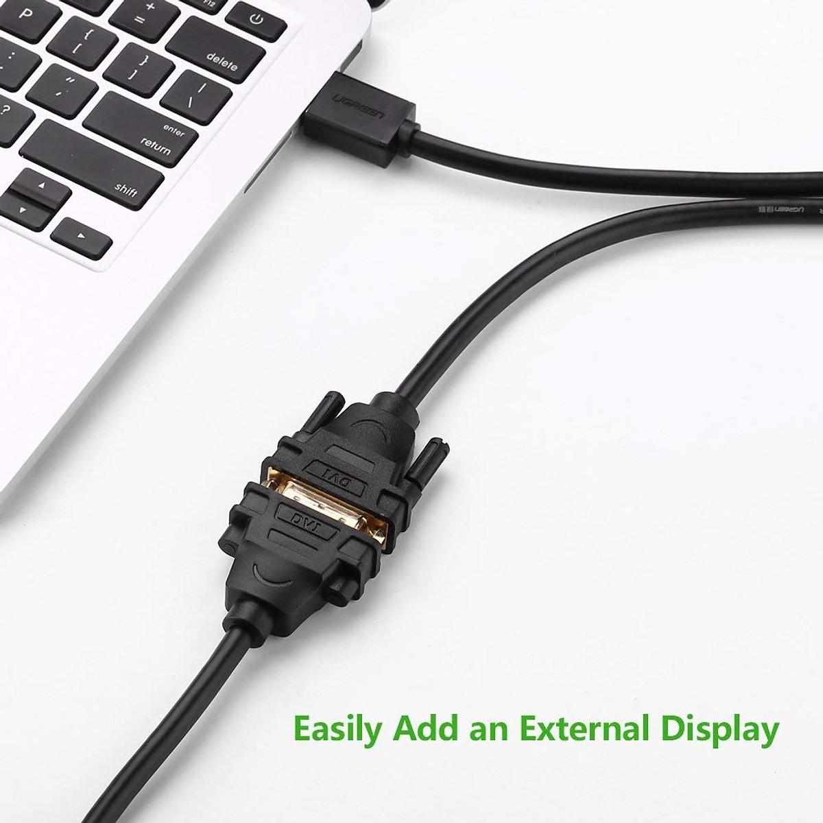 Cáp chuyển đồi HDMI sang DVI-D 24+1 cao cấp UGreen dài 3m (chuyển đổi 2 chiều) - Hàng chính hãng