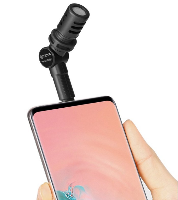 Mic thu âm BOYA BY-M110 cho điện thoại hàng chính hãng.
