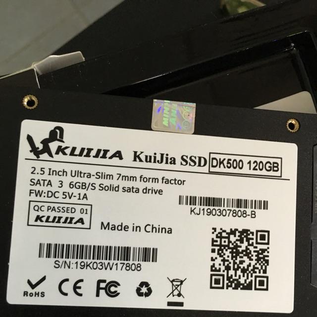 Ổ cứng SSD KUIJIA 120GB - Hàng chính hãng