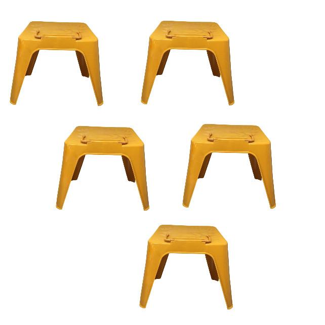 Bộ 5 chiếc kệ ghế nhựa đọc kinh -đồ thờ-AN13138
