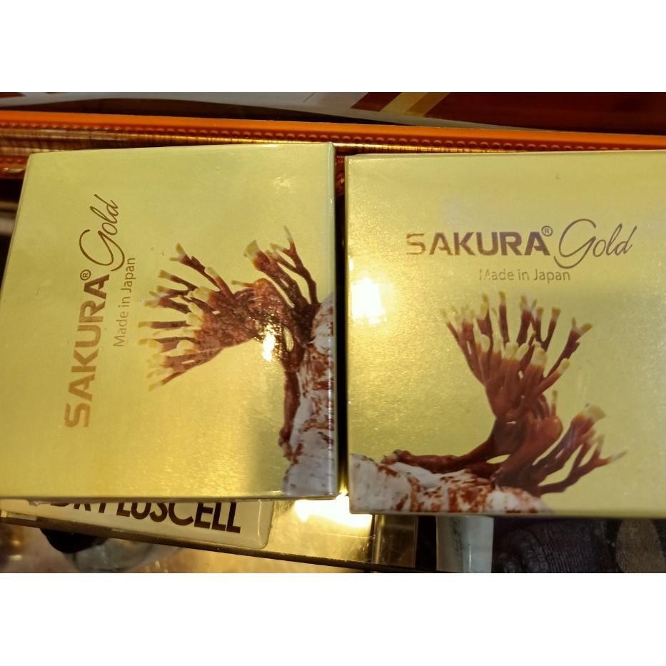 Bộ kem dưỡng trắng , siêu phẩm cho da nám Sakura gold