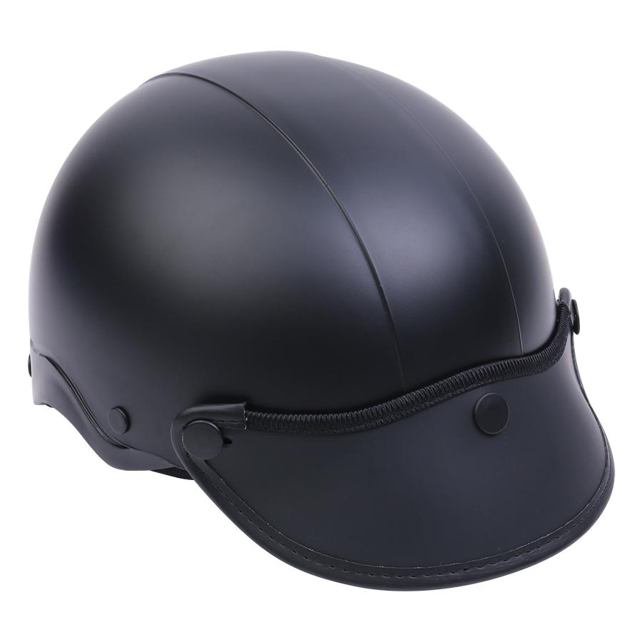 Mũ Bảo Hiểm 1/2 Đầu Napoli NS-N088-BLACK - Đen