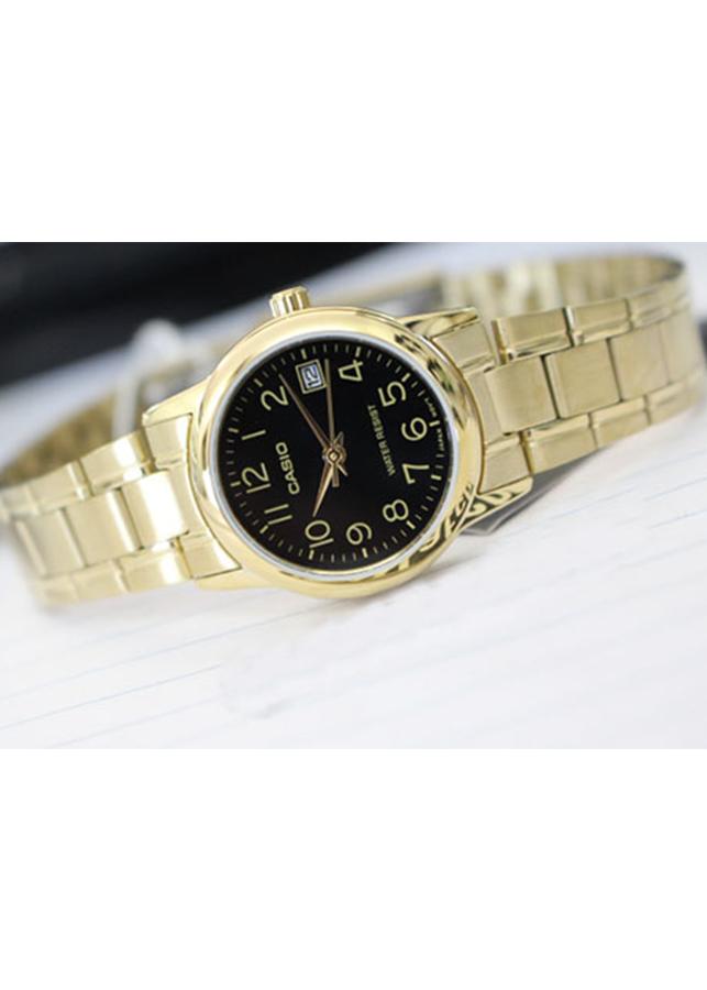Đồng hồ Nữ Casio dây Kim loại kính Cứng LTP-V002G-1BUDF